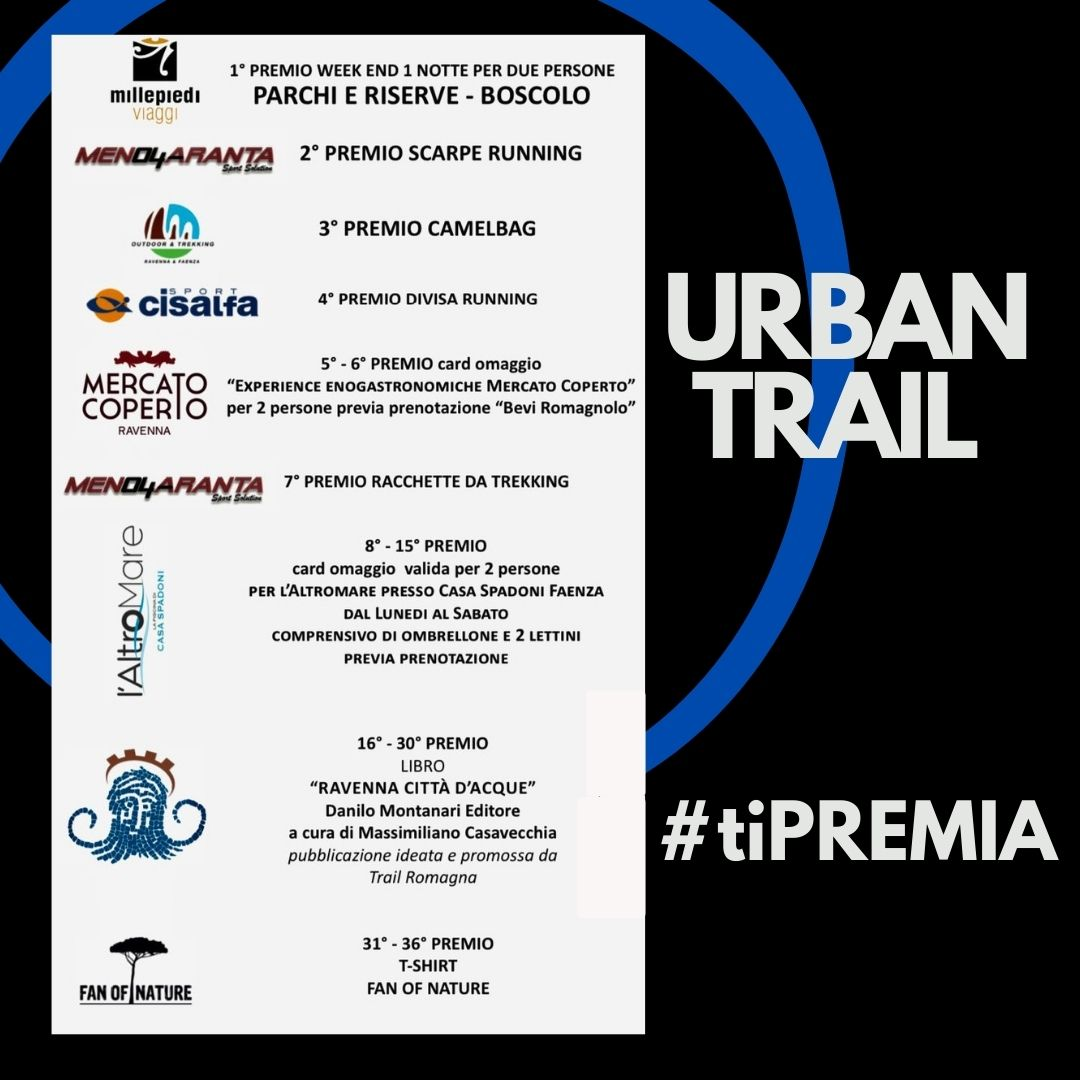 URBAN TRAIL I PREMI